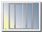 IsoVision Double slider window