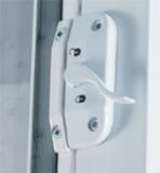 Horizontal sliding window lock