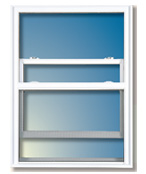 IsoVent SINGLE Hung window